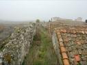 Adarve junto a la explanada del Castillo antes de su restauración