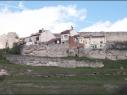 Los dos recintos amurallados junto a la calle de las Cuevas. Estado antes de su restauración