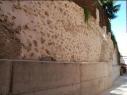 Contramuralla cerca de la igledia de San Pedro. Estado después de su restauración.