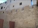 Almenado de la contramuralla cerca de la igledia de San Pedro. Estado después de su restauración.