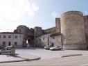 Puerta de San Basilio antes de su restauración.