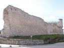Tramo de la muralla desde la puerta de San Basilio al Castillo. Estado antes de su restauración.