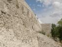 Muralla y contramuralla junto al convento de los Trinitarios
