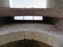 Puerta de San Basilio. Hueco del rastrillo.