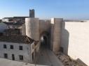 Vista exterior de la Puerta de San Basilio
