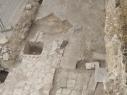 Vista aérea del Lagar junto a la puerta de San Basilio.