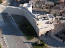 Vista aérea de la puerta de San Basilio