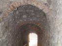 Tunel de acceso al adarve de la puerta de San Basilio