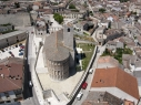 Vista aérea de la iglesia de San Esteban