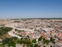 Vista aérea de las murallas