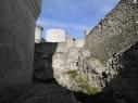 Barbacana o contramuralla del castillo.Vista desde el interior.